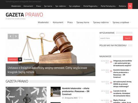 Gazetaprawo.net portal informacji prawnej