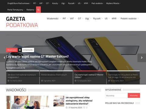 Gazetapodatkowa.net - portal podatkowy