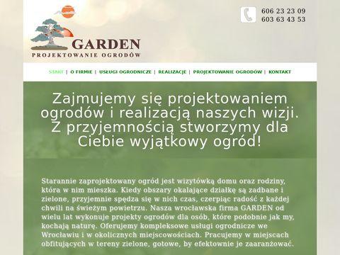 Garden projektowanie ogrodów