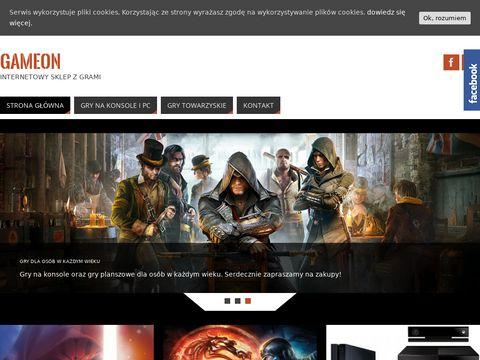 GameOn - sklep gry i konsole