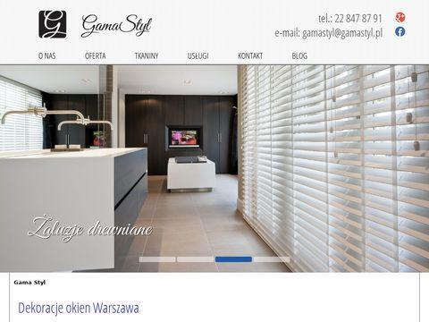 Gamastyl.pl - dekoracje okien