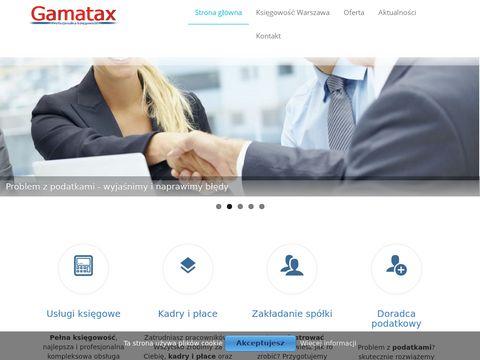 Biuro rachunkowe Gamatax-usługi księgowe Warszawa