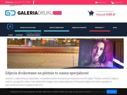 Galeriadruku.com.pl nowoczesne obrazy na ścianę