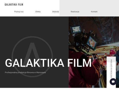 Galaktikafilm.pl - filmy korporacyjne Warszawa