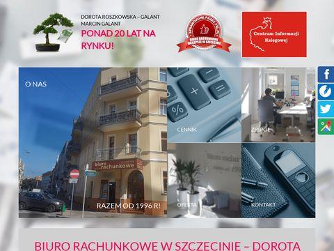 Roszkowska-Galant Dorota biura rachunkowe Szczecin