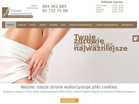 Prywatny gabinet ginekologiczny Białystok
