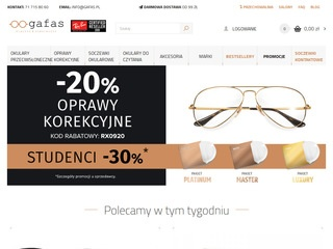 Gafas.pl oprawy korekcyjne