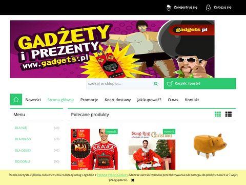 Gadżety - sklep z nietypowymi prezentami