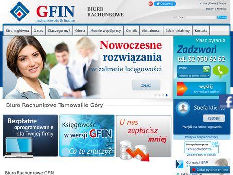 Biuro Rachunkowe GFIN Tarnowskie Góry