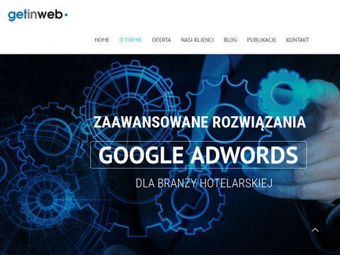 Getinweb.pl - marketing hotelowy