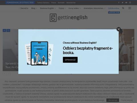 Gettinenglish.com darmowy serwis