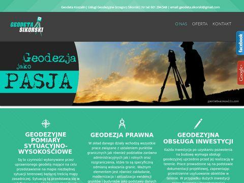 Geodetakoszalin.com - usługi geodezyjne Kołobrzeg