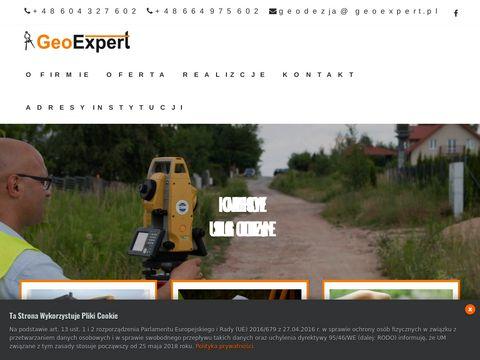 GeoExpert Firma geodezyjna