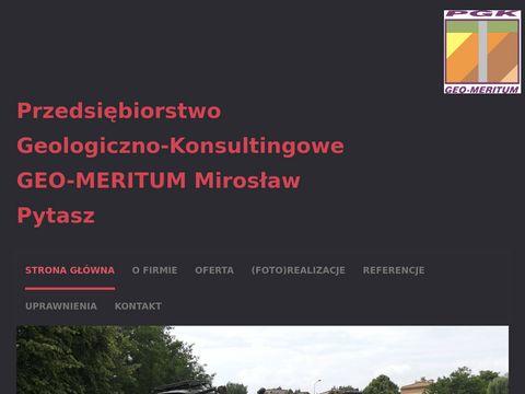 Geo-Meritum badania geotechniczne