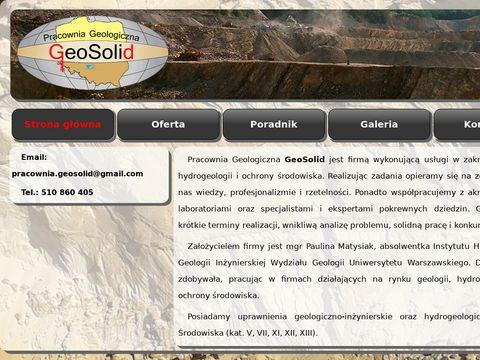 Pracownia Geologiczna GeoSolid