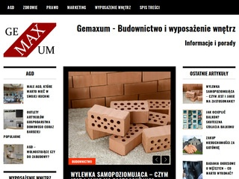 Gemaxum.pl - kamień dekoracyjny wewnętrzny