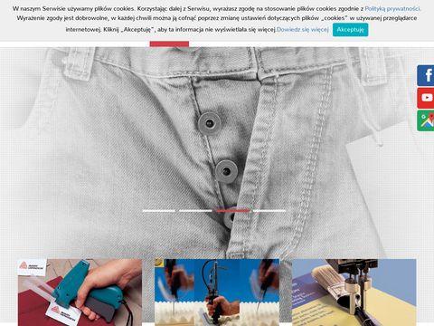 Gecko etykietowanie produktów tekstylnych Gdynia