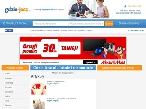 Gdzie-jesc.pl Baza restauracji