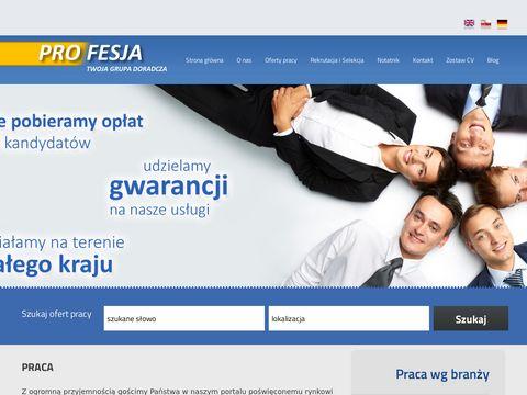 Gdprofesja.pl - agencja doradztwa personalnego
