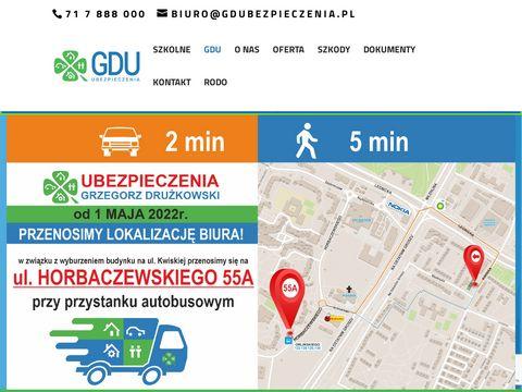 Gdubezpieczenia.pl agencja ubezpieczeniowa