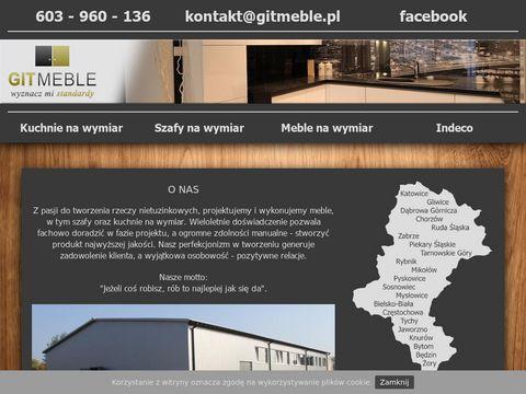 Git-meble.pl - szafy na wymiar