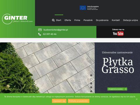 Ginter - producent wyrobów z betonu