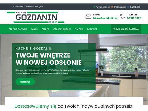 Gozdanin.pl meble na wymiar