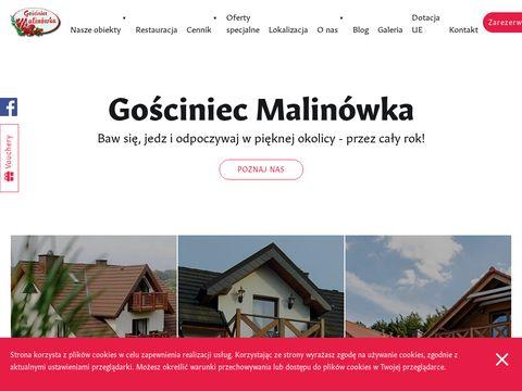 Gosciniecmalinowka.pl pensjonat Kaszuby wypoczynek