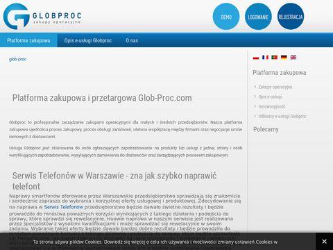 Glob-proc.pl - zarządzanie zakupami