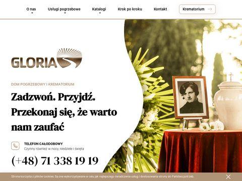 Gloria firmy pogrzebowe Wrocław