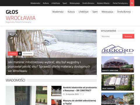 Gloswroclawia.pl regionalny serwis informacyjny