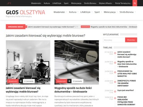 Glosolsztyna.pl portal regionalny