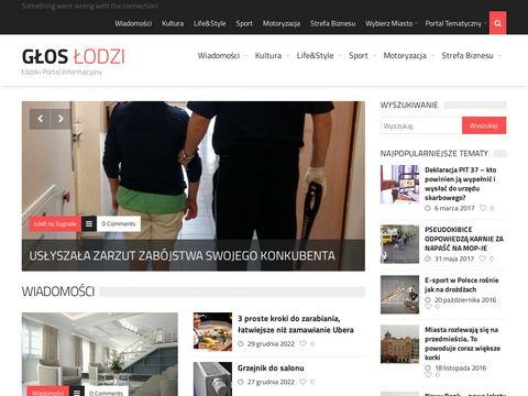 Gloslodzi.pl łódzki portal regionalny