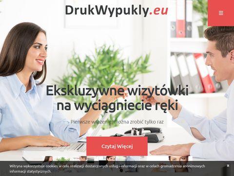 Drukwypukly.eu - wizytówki wypukłe
