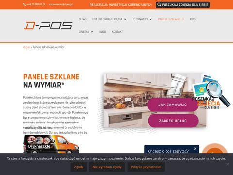 Szkło do kuchni Warszawa