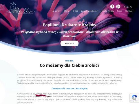 Drukarniapapillon.pl offsetowa