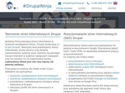 Drupalninja.pl Projektowanie stron internetowych