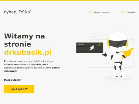 Zabiegi medycyny estetycznej - dr Kubasik