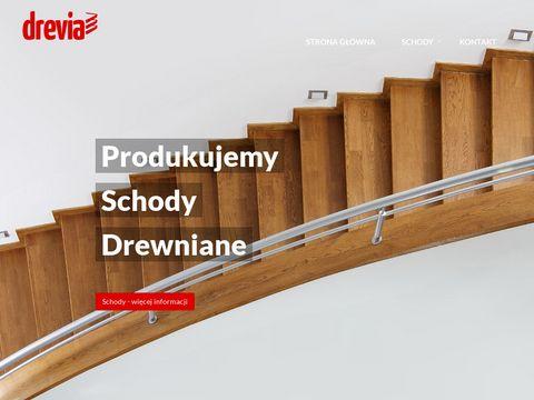 Drevia schody drewniane