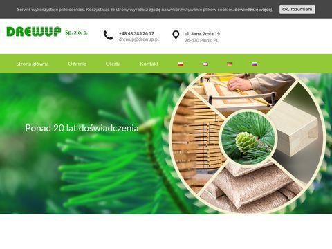 Drewup - fronty drewniane