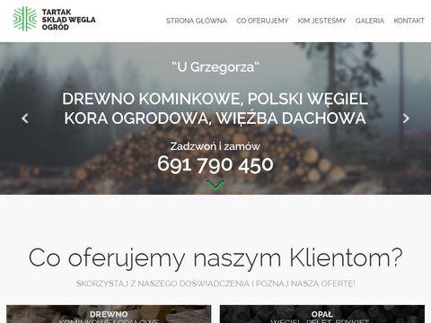 Drewnokominkowe.wroclaw.pl skład opału