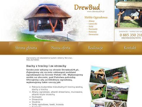 Drewbud24.pl producent dachów z trzciny