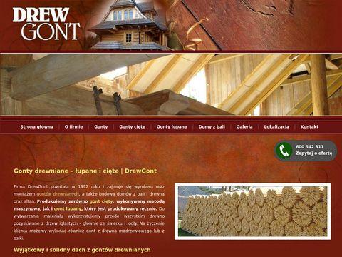 Drewgont.pl - gonty drewniane