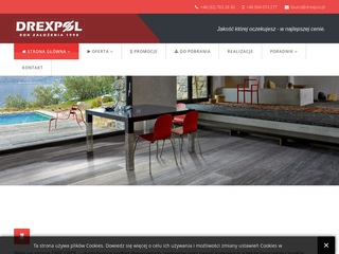 Drexpol - parkiety i podłogi drewniane