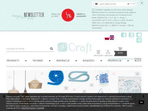 Dpcraft.pl quilling scrapbooking decoupage