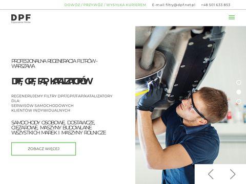 Dpf.net.pl chemiczne czyszczenie