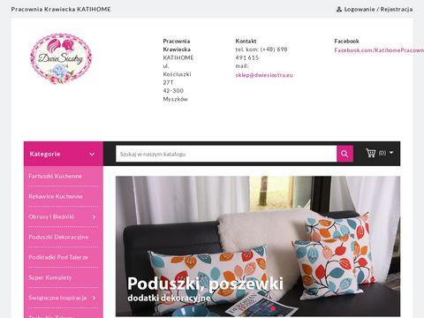 Dwiesiostry.eu poduszki dekoracyjne