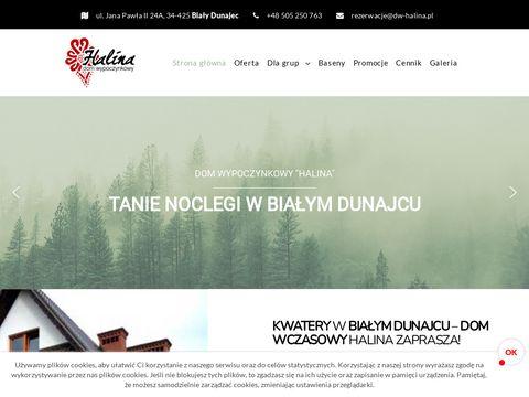 Dwhalina.pl - tanie noclegi w górach pensjonat