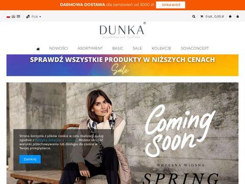 Dunka.eu hurtownia odzieży