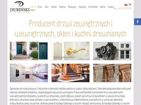 Dubiński drzwi luksusowe
